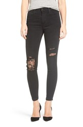 Joe's Jeans Women's Flawless Charlie Lace Patch Ankle Skinny