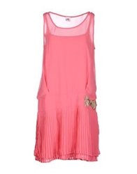 Scee By Twin Set Short Dresses Pink