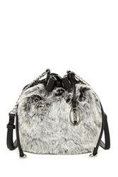 Carlos By Carlos Santana Asher Faux Fur Crossbody Gray