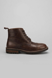 Hawkings Mcgill Round Toe Cap Key Cleat Boot Chocolate