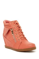 Top Guy Peter Wedge Sneaker Pink