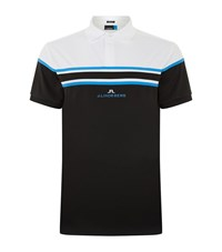 J. Lindeberg J.Lindeberg Arkell Golf Polo Shirt Male Black
