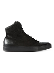 The Last Conspiracy 'Thrand' Hi Top Sneakers Black