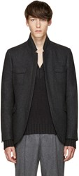 Tiger Of Sweden Grey Sigur Blazer