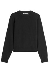 Alexander Wang T By Wool Pullover With Cashmere Black