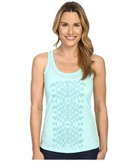 Columbia Elevated Tank Top Ocean Water Women's Sleeveless Blue