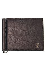 Men's Cathy's Concepts Personalized Leather Wallet And Money Clip Brown Brown K