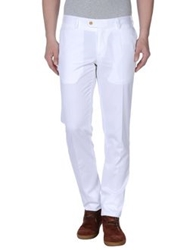 Caruso Casual Pants White
