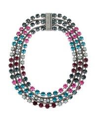 Betsey Johnson Multi Chain Statement Necklace