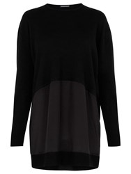 Warehouse Long Sleeved Top Black