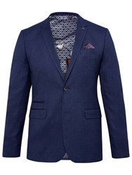 Ted Baker T For Tall Swim Mouline Blazer Blue