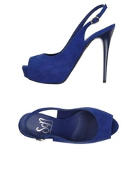 Sgn Giancarlo Paoli Sandals Blue