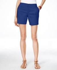 Inc International Concepts Curvy Fit Shorts Only At Macy's Goddess Blue