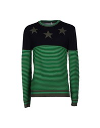 Aimo Richly Knitwear Jumpers Men Green