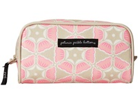 Petunia Pickle Bottom Glazed Powder Room Case Blooming Brixham Cosmetic Case Beige