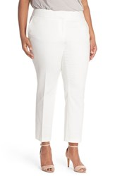 Plus Size Women's Vince Camuto Ankle Pants New Ivory