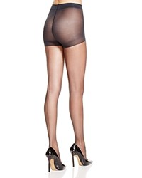 Hue Sheer Back Seam Control Top Tights U6038n Black