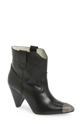 Plomo 'Sienna' Leather Boot Women Black