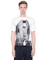 Antonio Marras Printed Cotton Jersey T Shirt