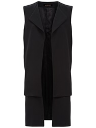 Jaeger Double Layered Gilet Black