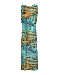 Rare Ra Re Dresses Long Dresses Women Turquoise