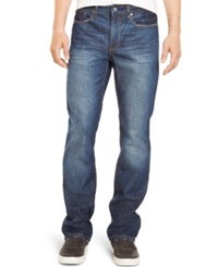 Kenneth Cole Reaction Bootcut Faded Jeans