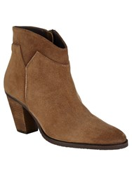 Phase Eight Amber Suede Boots Brown