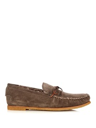 Tomas Maier Shearling Loafers