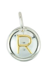 Women's Baroni Initial Dangle Charm Silver Gold R