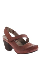 Otbt Belmont Mary Jane Pump Brown