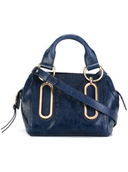 See By Chloe Small 'Paige' Tote Blue