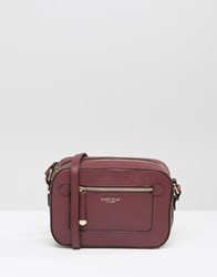 Carvela Smart Cross Body Bag Wine Red