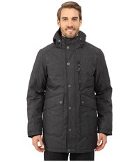 Prana Merced Jacket Black Heather Men's Coat