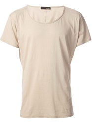 Avelon Loose Fit T Shirt Nude And Neutrals