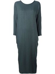 Black Crane 'Cocoon' Dress Grey
