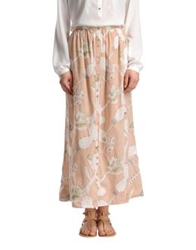 Local Apparel Long Skirts Skin Color