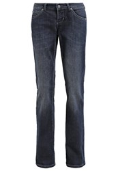 M A C Mac Carrie Bootcut Jeans Blue Denim
