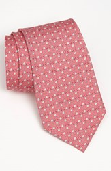 Men's Vineyard Vines 'Golf Clubs' Silk Tie Light Pink