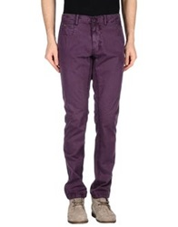 Napapijri Casual Pants Purple