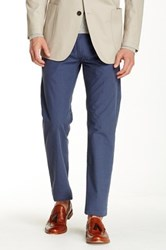 Brooks Brothers Poplin Houndstooth Pant Blue