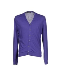 Daniele Alessandrini Homme Cardigans Lilac