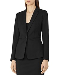 Reiss Dartmouth Tailored Blazer Black
