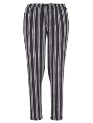 Dorothy Perkins Vertical Stripe Jogger White