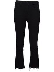 Mother Cropped Jeans Black