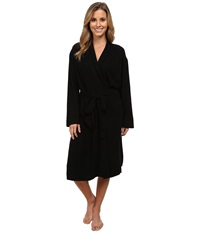 Bedhead Cashmere Robe Black Solid Women's Robe