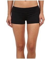Lauren Ralph Lauren Laguna Solids Boyshorts Black Women's Swimwear