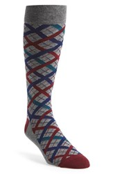 Men's The Tie Bar 'Picnic Plaid' Socks