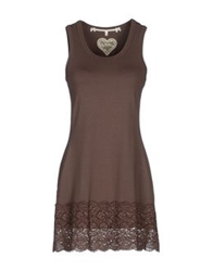 By Ti Mo Short Dresses Cocoa