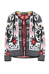 Desigual Leonor Cardigan White