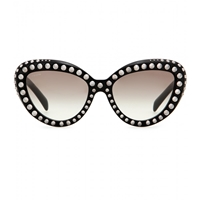 Prada Studded Cat Eye Sunglasses